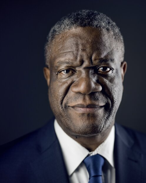 Portrait of Dr. Denis Mukwege
